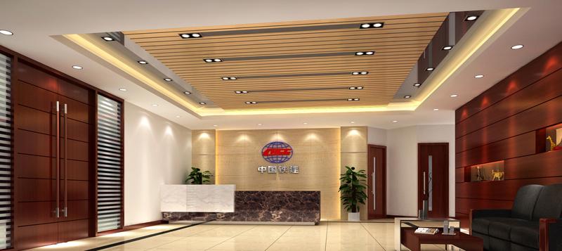 前台效果图 广州专业装饰工程公司 办公室装修 商铺装修